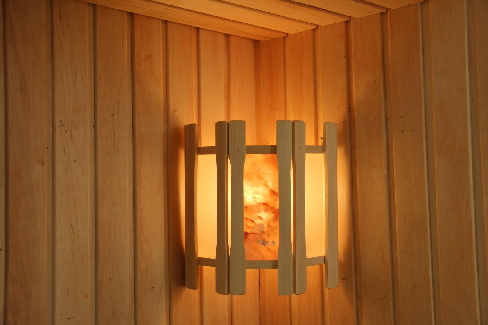 Лампа в сауну своими руками
